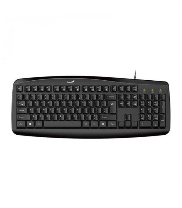 کیبورد و موس سیمی جنیوس مدل Genius KM-200 Keyboard and Mouse Bundle