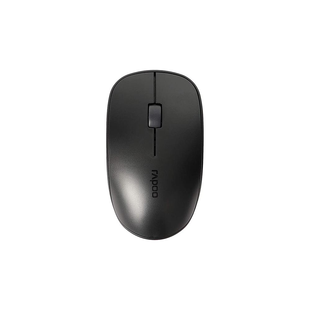موس بی صدا بی سیم رپو مدل Rapoo M200 Silent Wireless Mouse