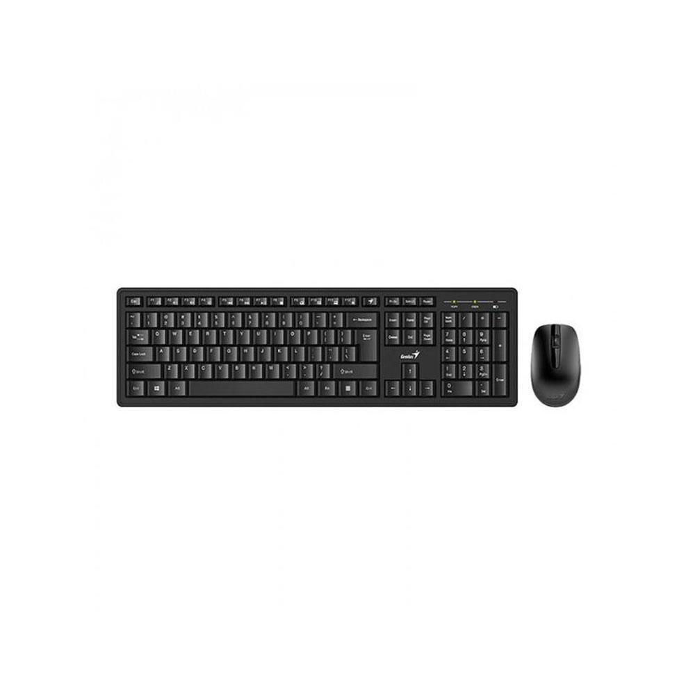 کیبورد بی سیم جنیوس مدل Wireless Smart KM-8200 Keyboard and Mouse