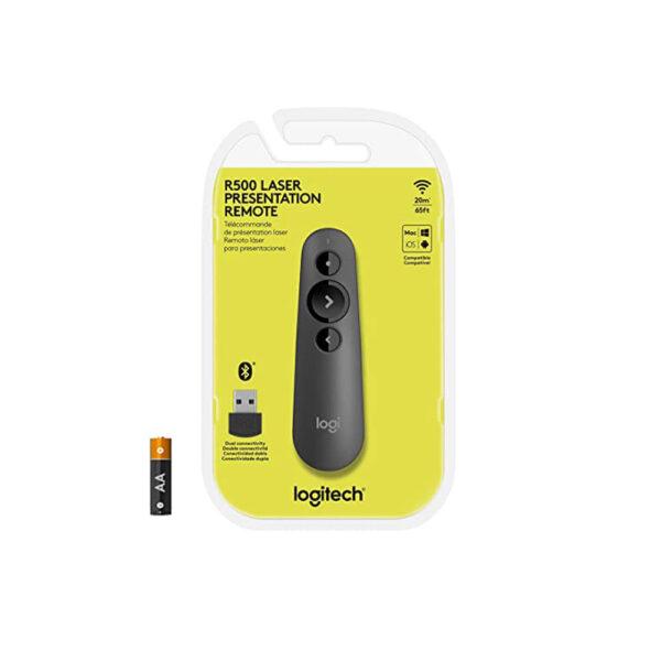 پرزنتر بیسیم لاجیتک مدل Logitech R500 Wireless Presenter