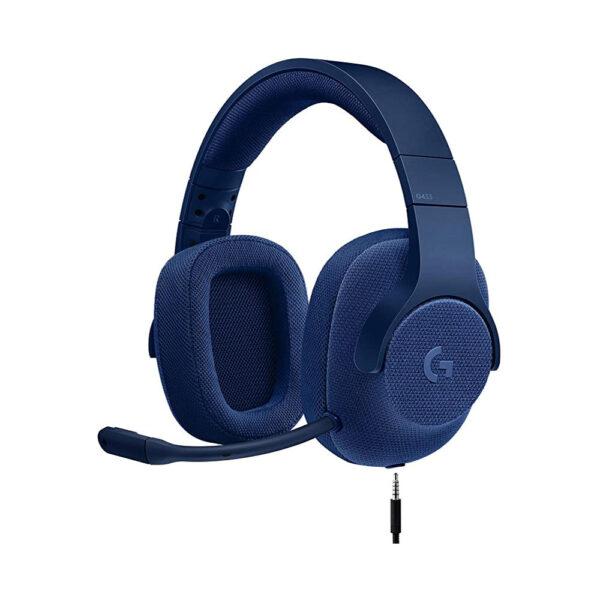 هدست گیمینگ لاجیتک مدل Logitech G433 Wired Gaming Headset