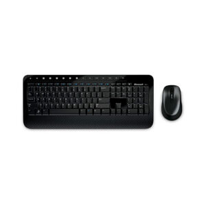 کیبورد و ماوس بی سیم مایکروسافت مدل Microsoft Desktop 2000 Wireless Keyboard & Mouse