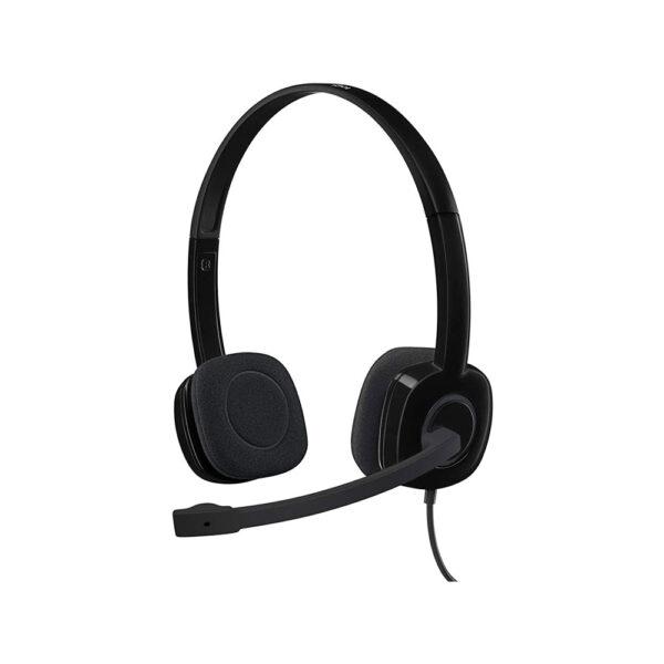 هدست لاجیتک مدل Logitech H151 Analog Stereo Headset