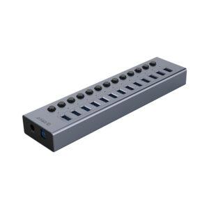 هاب 13 پورت اوریکو مدل ORICO BT2U3-13AB 13Port Hub With Individual Switches