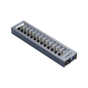 هاب 13 پورت اوریکو مدل ORICO AT2U3-13AB 13Port Hub With Individual Switches
